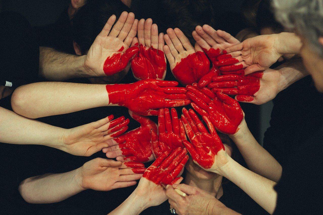 hands, heart, red paint-1846428.jpg